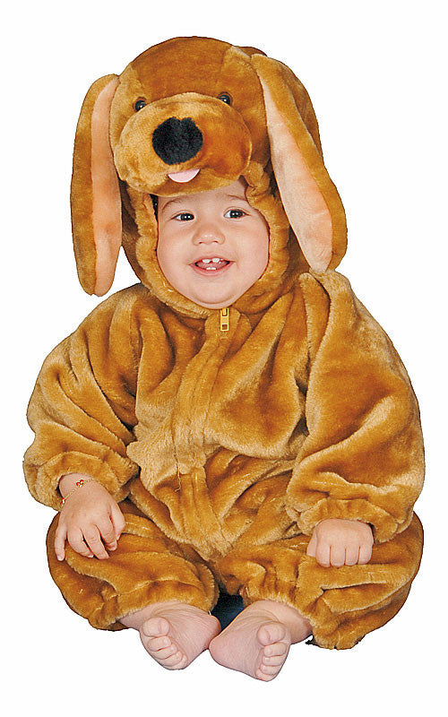 Infants Brown Plush Puppy Costume