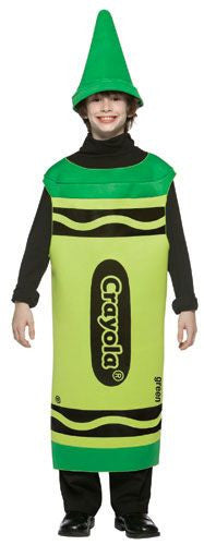 Kids Green Crayola Crayon Costume