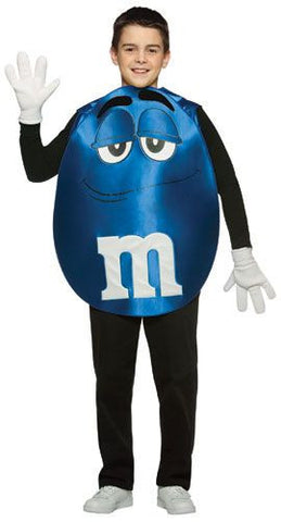 Teens Blue M&Ms Costume