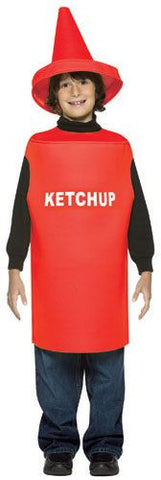 Kids Ketchup Bottle Costume