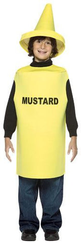 Kids Mustard Bottle Costume