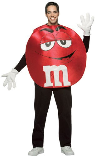 Adults Red M&Ms Costume