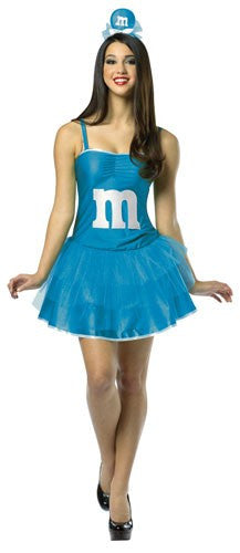 Womens Blue M&Ms Party Dress