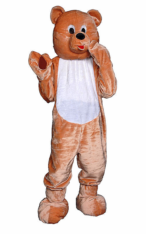 Kids Teddy Bear Mascot Costume