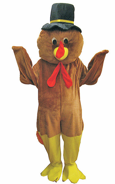 Adults Thanksgiving Turkey Mascot Costume