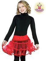 Kids Red Crinoline
