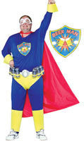 Mens Plus Size Super Beer Man Costume