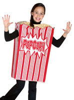 Kids Popcorn Box Costume
