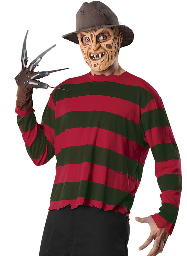 Mens Nightmare on Elm Street Freddy Krueger Costume Kit