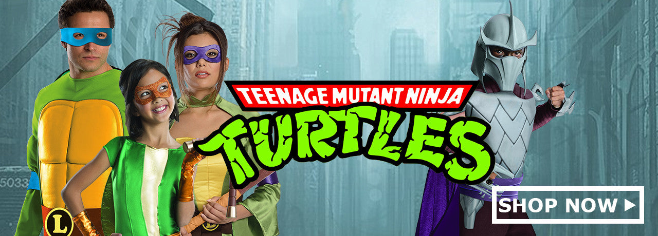 Teenage Mutant Ninja Turtles Costumes & Accessories