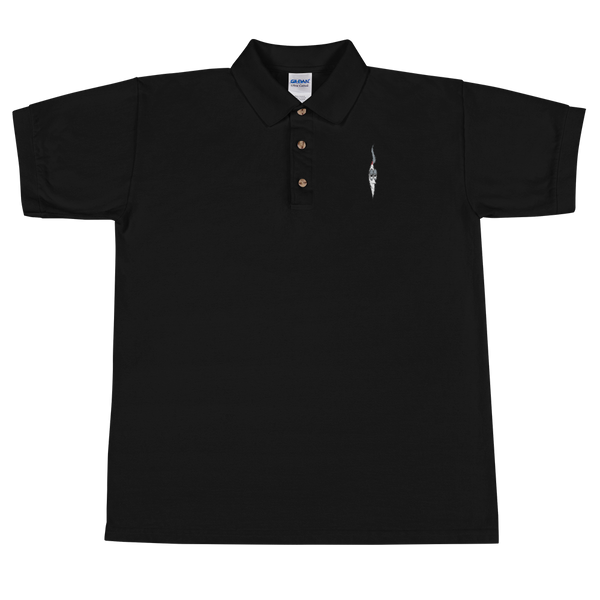 ISMOKEIT Joint Embroidered Polo Shirt