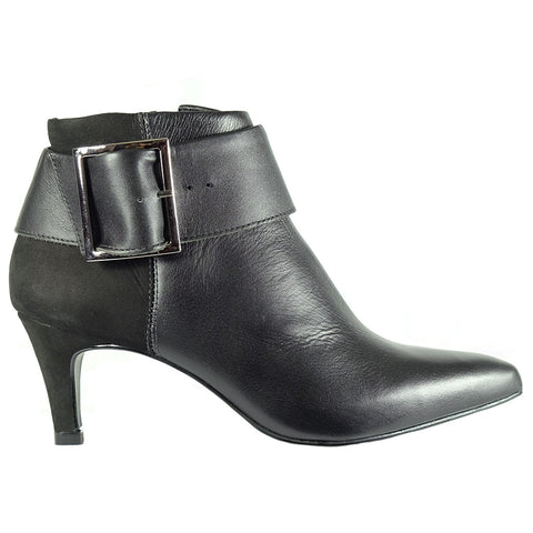 Dolce vita grey leather boot