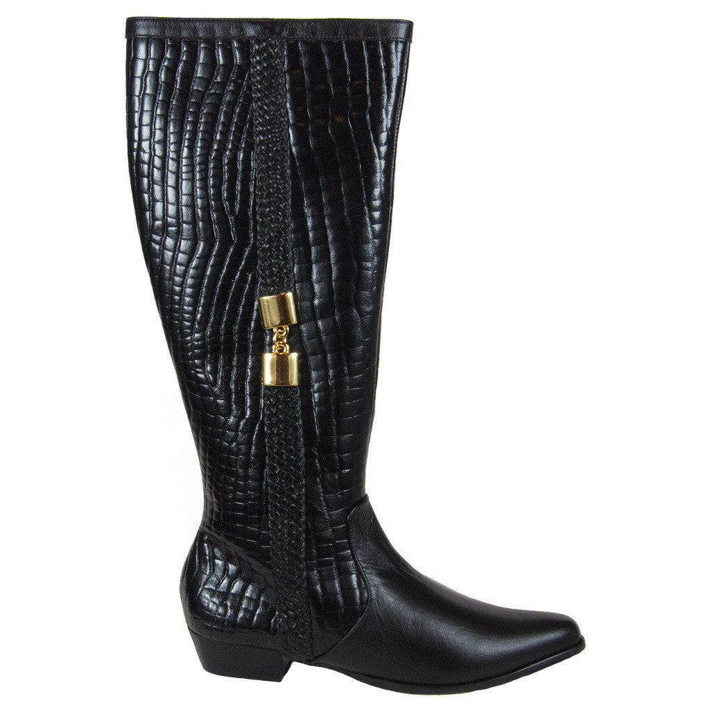 Alanna Long Leather Boot