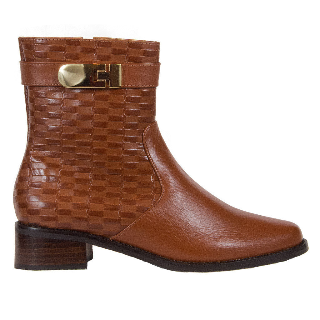Uptown flat boots