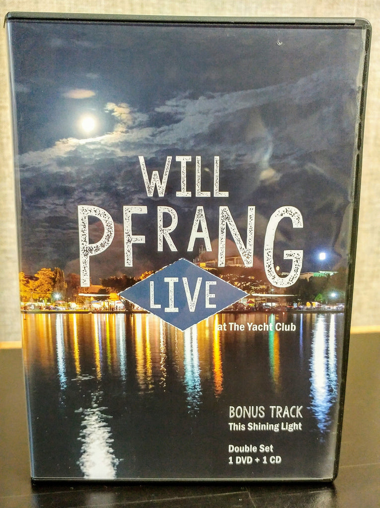 *OFFICIAL* WILL PFRANG LIVE DVD/CD