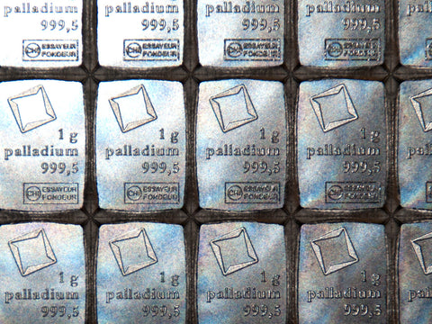 Pd • Palladium metal by the gram