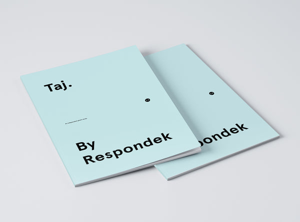 'Taj. By Respondek' - 120 page photo book featuring images of Taj Burrow.