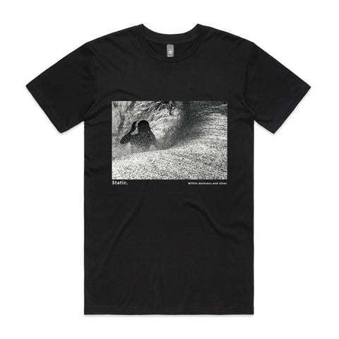 Men's Black Surf T-shirts - Featuring Craig Anderson | By Respondek