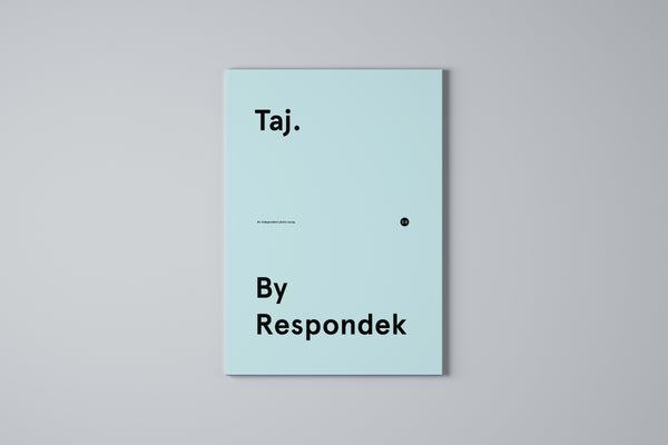 'Taj. By Respondek' - Get the whole 3 part photo essay series for the price of 2 || (Simple order any 2 books and we'll send the 3rd book for free)