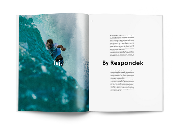 Coffee table surf book