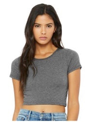 Bella cropped fitted Tee