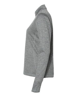 MMYB Woman's Team Jacket - Adidas Brushed Terry Heather Quarter-Zip