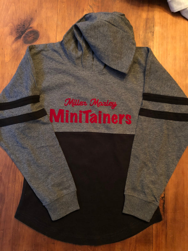 MiniTainer Hooded Pom Pom Jersey