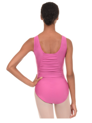 Danskin Shirred Tank Leotard