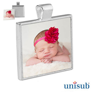 Silver Plated Photo Pendent