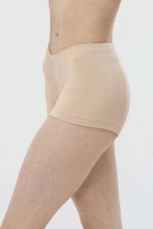 Andesite-nude/tan booty shorts