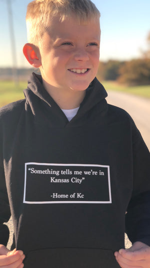 """H/O KC Quote"" - Ecosmart Youth Hooded Sweatshirt"