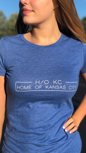""" H/O KC Boxed ""  - Next Level - Women's Triblend Crew"