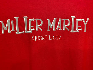 STUDENT LEADER RED SHIRT