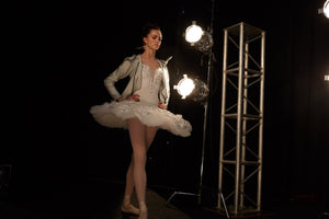 Z2 PERFORM! PROFESSIONAL PERFORMANCE BALLET TIGHTS WITH BACK SEAM
