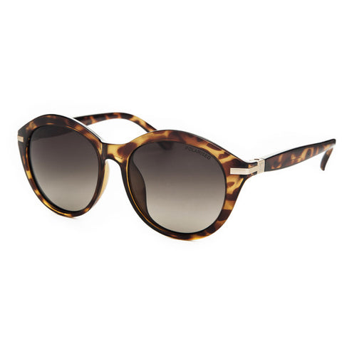 Locello Paloma Sunglasses - Tortoiseshell Frame, Graduated Brown Lens
