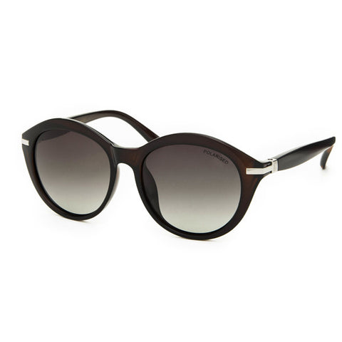 Locello Paloma Sunglasses - Dark Ruby Red Frame, Graduated Smoke Lens