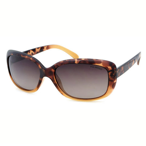 Locello Nicola Sunglasses - Tortoiseshell Frame, Graduated Brown Lens 1
