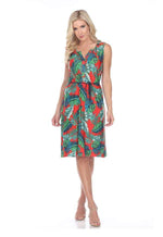 Kay Celine Dress XS / Tropical-Red Tropical Dress in Tropical Red