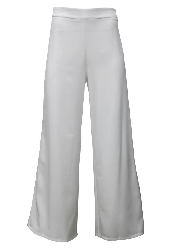 Kay Celine Pants XS / Off-White Palazzo Pant in Off White
