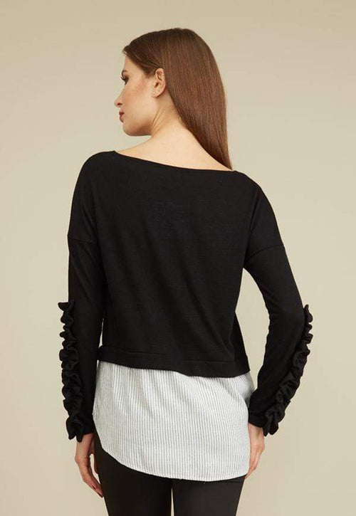 Kay Celine Sweater Norit Textured Knit Top