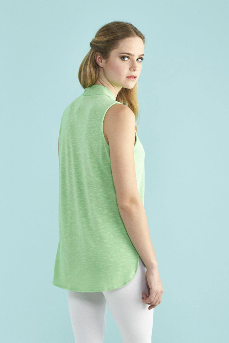 Kay Celine Top Kalee Textured Knit Top in Mint