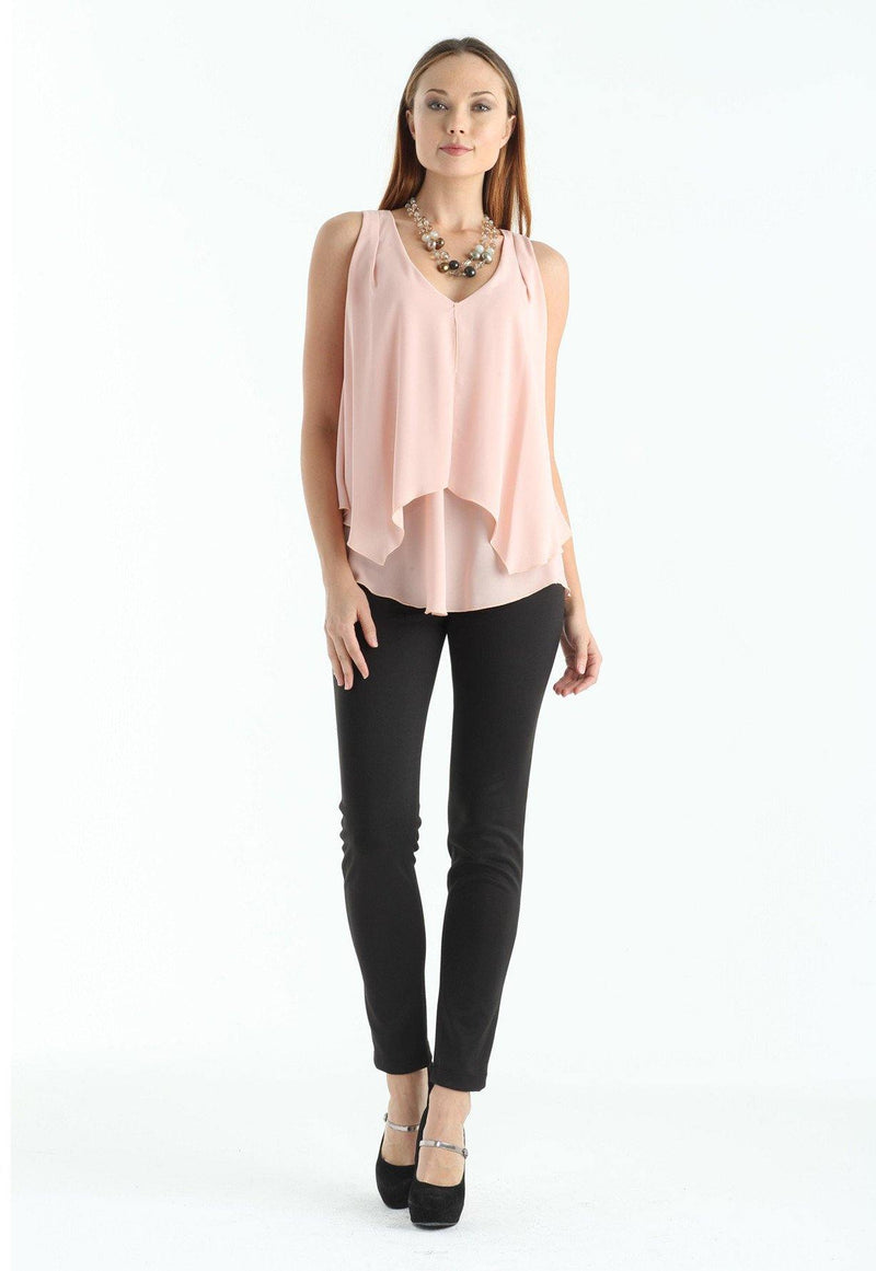 Kay Celine Top Lila Top in Blush