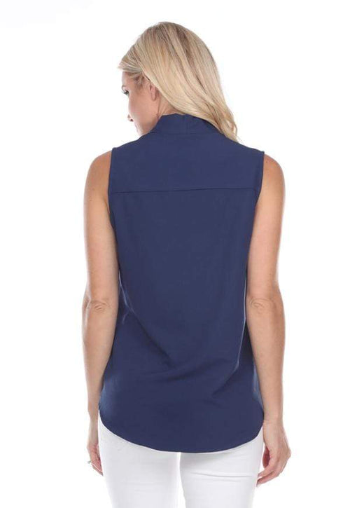 Kay Celine Top No Nonsense Top in Navy