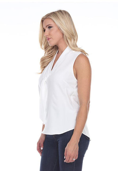 Kay Celine Top No Nonsense Top in Off White