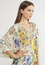 Kay Celine Top Paris Beaded Tunic