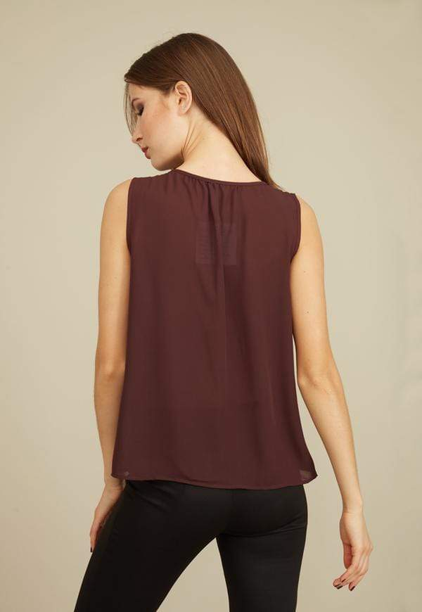 Kay Celine Top Ruffle Me Up Top