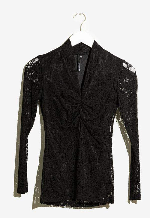 Kay Celine Top XS / Black Cassidy Lace Top