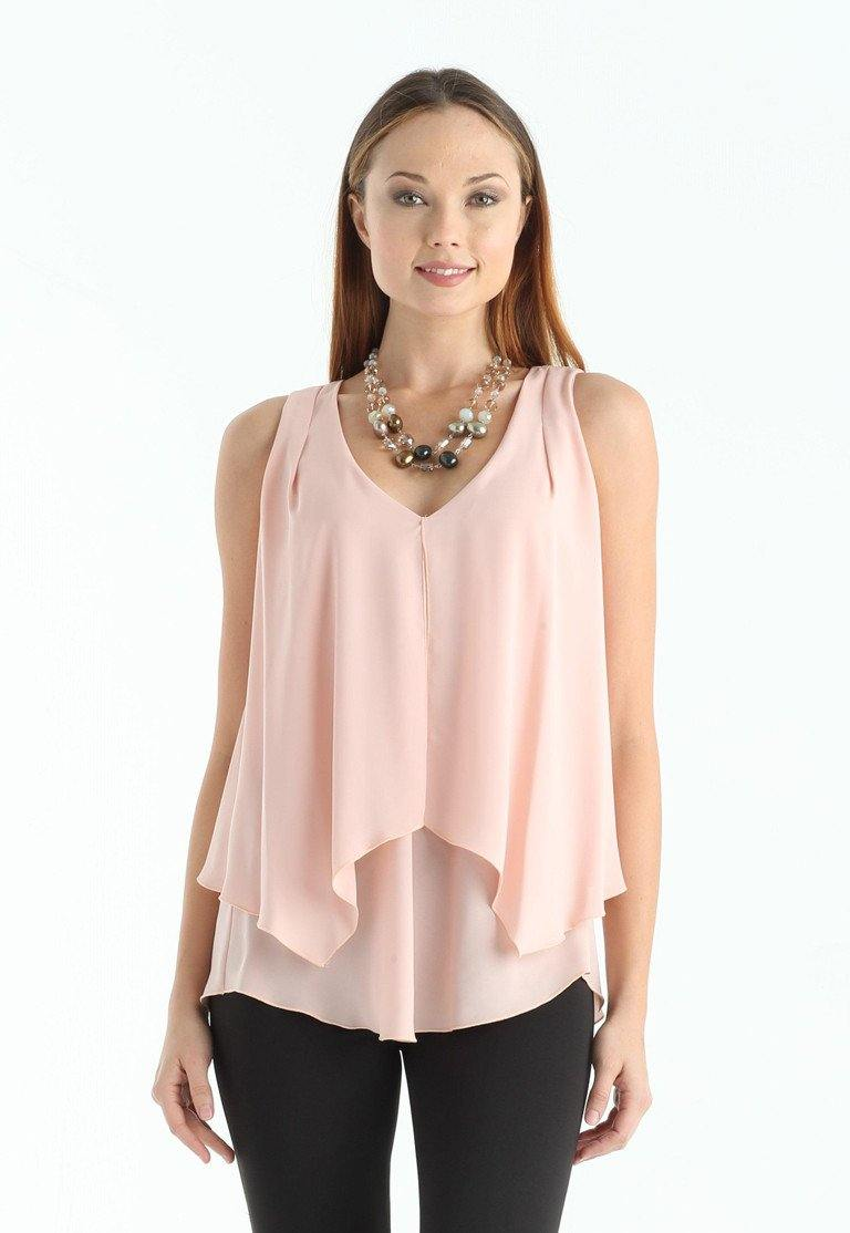 Kay Celine Top XS / Blush Lila Top in Blush