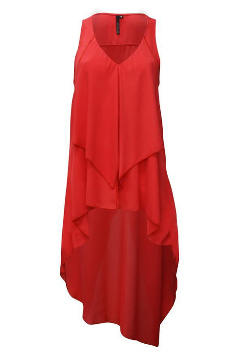 Kay Celine Top XS / Coral Tawny Top in Coral