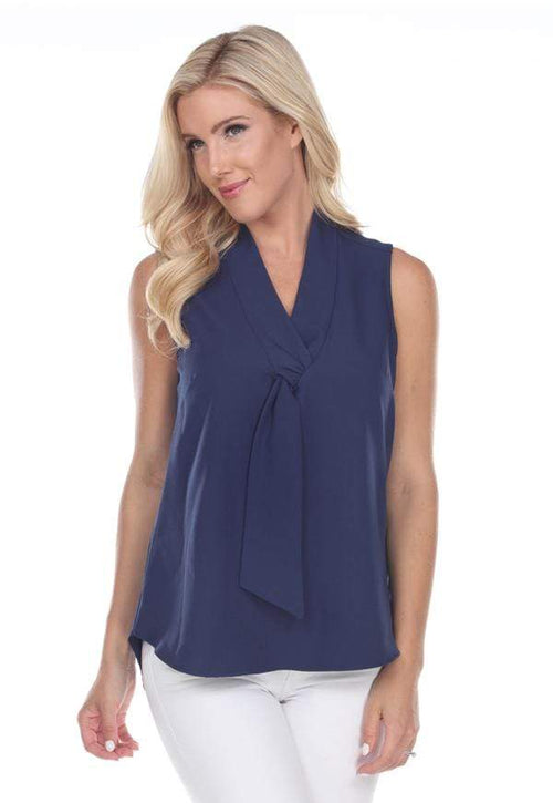 Kay Celine Top XS / Navy No Nonsense Top in Navy